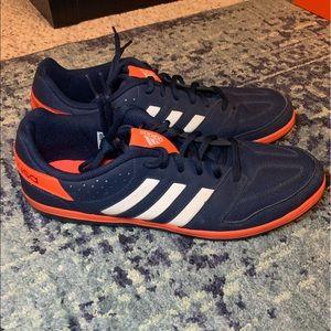 Adidas Team USA soccer shoes 10.5 - navy blue
